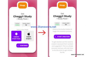 Premium chegg Accounts using Survey