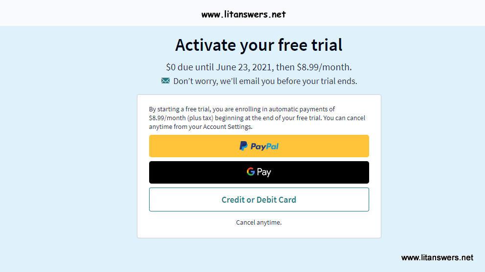 Scribd Free trial package