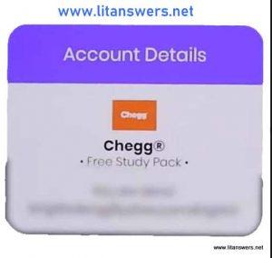 Proof of Free premium chegg account